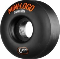 Mini Logo C-Cut Skateboard Wheels - black (101a)
