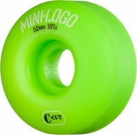 Mini Logo C-Cut Skateboard Wheels - green (101a)
