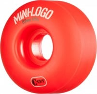 Mini Logo C-Cut Skateboard Wheels - red (101a)