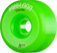 Mini Logo Hybrid A-Cut Skateboard Wheels - green (90a)
