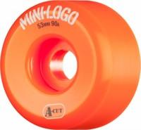 Mini Logo Hybrid A-Cut Skateboard Wheels - orange (90a)