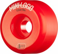 Mini Logo Hybrid A-Cut Skateboard Wheels - red (90a)
