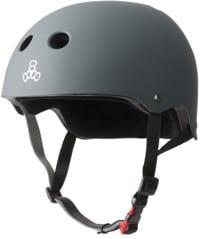 Triple Eight THE Certified Sweatsaver Skate Helmet - carbon rubber