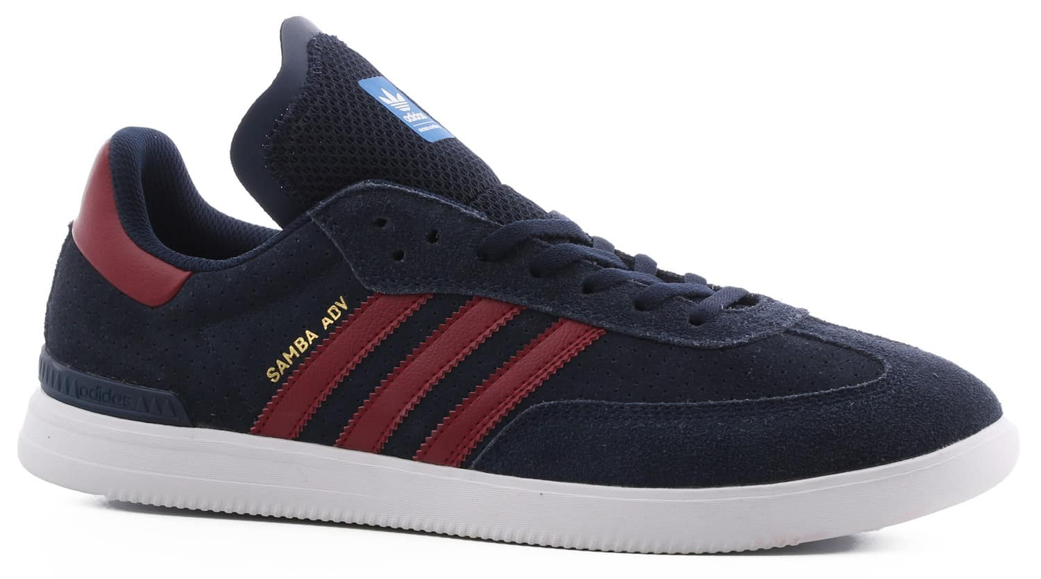 adidas samba adv skate shoes collegiate navy collegiate. Black Bedroom Furniture Sets. Home Design Ideas