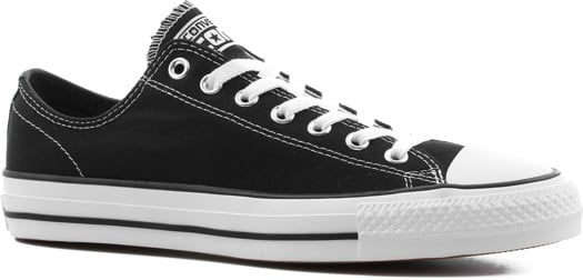 Converse Chuck Taylor All Star Pro Skate Shoes - black/black/white (canvas) - view large