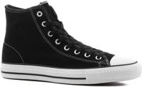 Converse Chuck Taylor All Star Pro High Skate Shoes - black/black/white (suede)