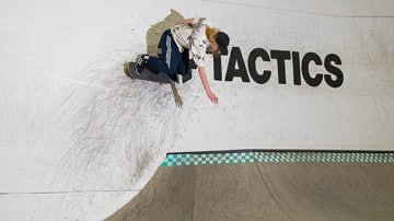 An Afternoon at the TransWorld Skatepark with Tactics
