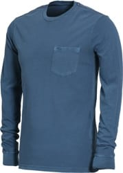 RVCA PTC Pigment L/S T-Shirt - dark denim