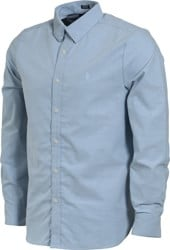 Volcom Oxford Stretch L/S Shirt - wrecked indigo