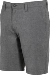 Volcom Frickin SNT Static Hybrid Shorts - charcoal heather