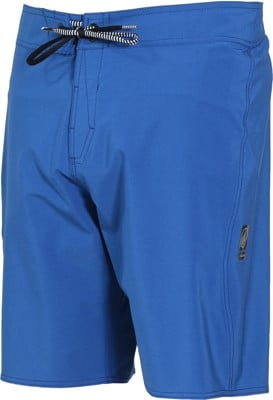Volcom Lido Solid Mod Boardshorts - camper blue - view large