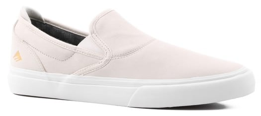 Emerica Wino G6 Slip-On Shoes - (collin provost) white/white - view large