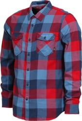 Vans Box Flannel - chili pepper/copen blue