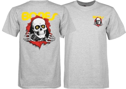 Powell Peralta Kids Ripper T-Shirt - grey - view large