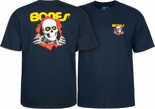 Powell Peralta Kids Ripper T-Shirt - navy - view large