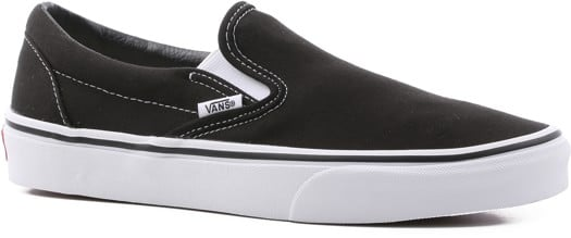 Vans Women's Classic Slip-On Shoes - black - view large