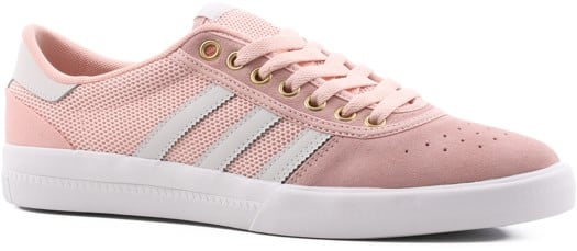 Adidas Lucas Premiere ADV Skate Shoes - vapour pink/grey one/footwear white - view large