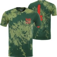 Deathwish The Truth T-Shirt - olive tie-dye
