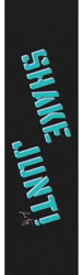 Shake Junt Jamie Foy Pro Skateboard Grip Tape - black/light blue