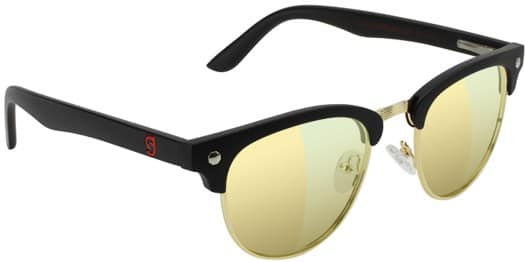 Glassy Attach Gamer Series Sunglasses - black/gold - view large