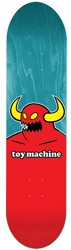 Toy Machine Monster 8.5 Skateboard Deck - turquoise