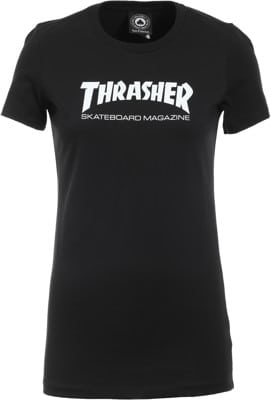 Thrasher Women's Skate Mag T-Shirt - black - view large