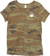 Protect Our Winters Women's Est. 2007 Mountain T-Shirt - camo