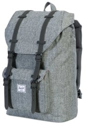 Herschel Supply Little America Mid Volume Backpack - raven crosshatch