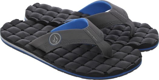 Volcom Recliner Sandals - blue combo - view large