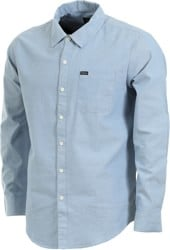 Brixton Charter Oxford L/S Shirt - light blue chambray