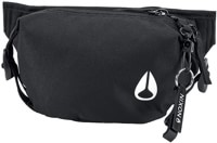 Nixon Trestles Hip Pack - all black nylon v.1