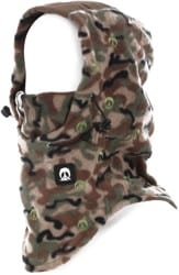 Gnarly Face Mask Hood - camo