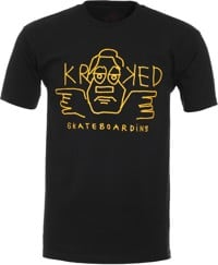 Krooked Arketype Dude T-Shirt - black