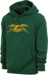 Anti-Hero Basic Eagle Hoodie - alpine green/yellow