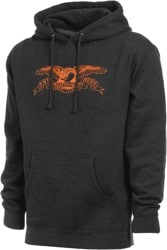 Anti-Hero Basic Eagle Hoodie - charcoal/orange