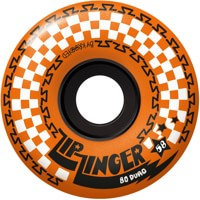 Krooked Zip Zinger 80HD Skateboard Wheels - orange (80d)