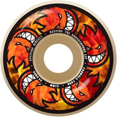 Spitfire Formula Four Classic Skateboard Wheels - multiballs (99d) - view large