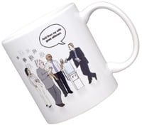 Alltimers Office Mug - white