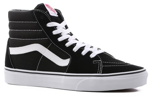 Vans Sk8-Hi Skate Shoes - black/black/white - view large