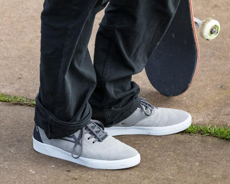 Lakai Bristol Skate Shoes Wear Test
