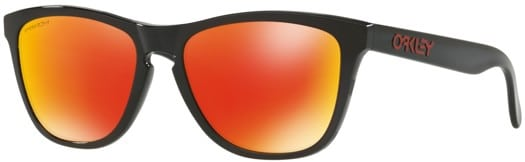 Oakley Frogskins Sunglasses - black ink/prizm ruby lens - view large