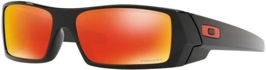 Oakley Gascan Sunglasses - polished black/prizm ruby lens - view large