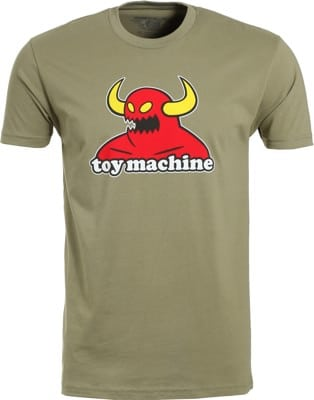 Toy Machine Monster T-Shirt - light olive - view large