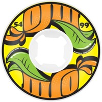 OJ From Concentrate Hardline Skateboard Wheels - white/yellow (99a)