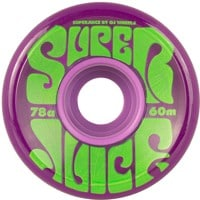 OJ Super Juice Skateboard Wheels - trans purple (78a)