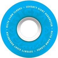 Ricta Cloud Skateboard Wheels - blue (78a)