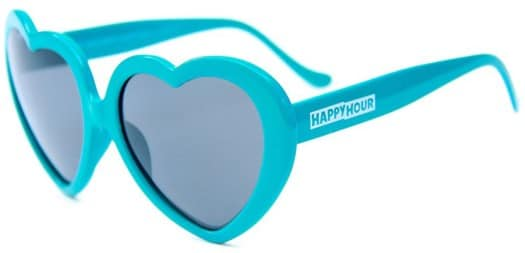Happy Hour Heart Ons Sunglasses - blue - view large