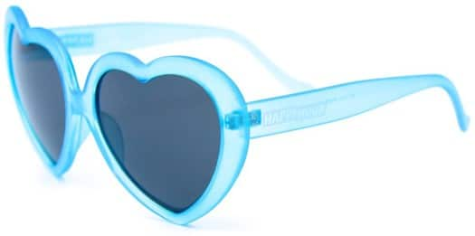 Happy Hour Heart Ons Sunglasses - blue frost - view large