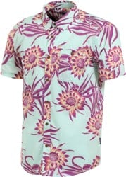 Patagonia Go To S/S Shirt - cereus flower: lite bend blue