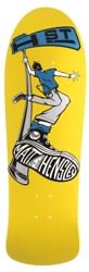 H-Street Matt Hensley Street Swinger 10.0 Reissue Skateboard Deck - yellow dip